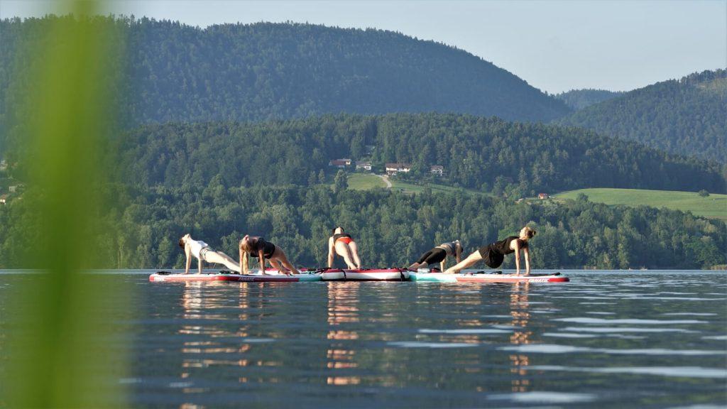Velenjsko jezero sup joga